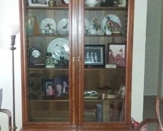 J Glass Bookcase front