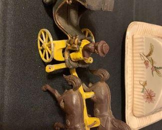 Antique Amish iron toy