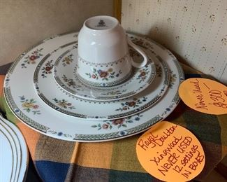 Royal Doulton Kingwood new in boxes 12 place settings