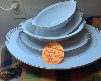Noritake Guilford with serving pieces