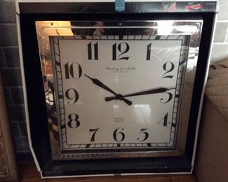 Living Room - New (in box) Sterling and Noble wall clock