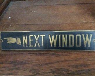 Living Room - next window wooden sign