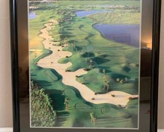 Framed Golf Poster https://ctbids.com/#!/description/share/275799