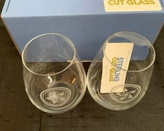 Sterling Cut Glass Wine Glasses https://ctbids.com/#!/description/share/275801