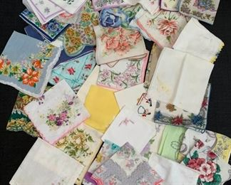 Vintage Hankies https://ctbids.com/#!/description/share/275802