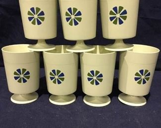 Vintage MidMod David Douglas Pedestal Cups https://ctbids.com/#!/description/share/275852