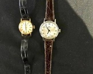 Ladies Tissot and Bucherer Watches https://ctbids.com/#!/description/share/275925