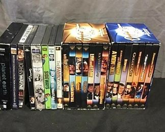 DVD collection. https://ctbids.com/#!/description/share/275937