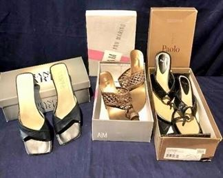 Trio of Shoes https://ctbids.com/#!/description/share/275974