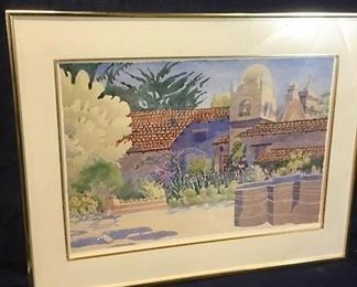 Linda Adams hand-signed watercolor print https://ctbids.com/#!/description/share/276079