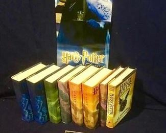 Harry Potter Hardback Assortment & CD https://ctbids.com/#!/description/share/276104