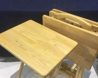 5-Piece Natural Foldable Table Tray Set https://ctbids.com/#!/description/share/276112