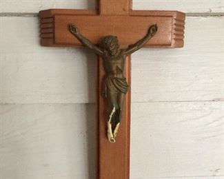 Beautiful Terminally I'll Prayer Crucifix with Candles & Holy Water  Inside