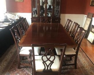 Table, Chairs and China Cabinet have sold! As always, any presale items will be noted as such in the photo description.