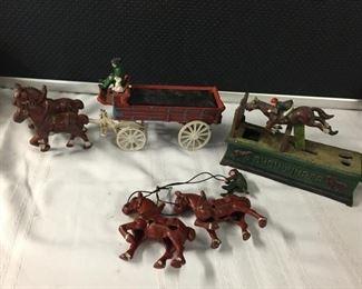 Cast Iron Horse Buggy & More https://ctbids.com/#!/description/share/275264