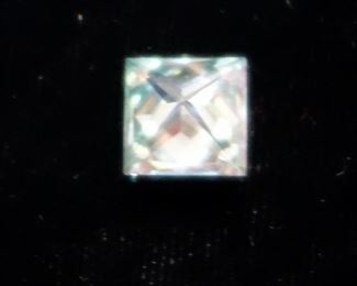 "100% Natural Blue Diamond, Square Shape, 2.56 Carat, ""Eye Clean"""