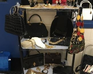 Assortment of vintage accessories - all decades
