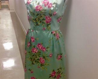 1950's- 60's floral dress