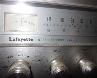 Lafayette Receiver LR-2020