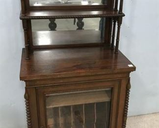 Unique Antique Music Cabinet