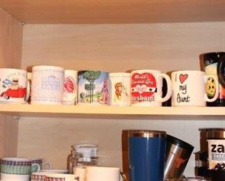 Great Assortment of Mugs