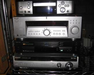 Denon s-301, Sony Str-k502, Toshiba SD-3109, Panasonic SA-XR55