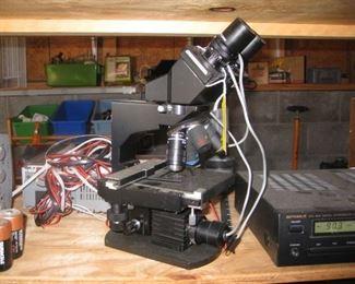Columbia Pro microscope