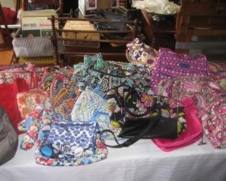 Vera Bradley purses, wallets, bags