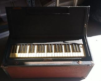 A.L. White folding chaplain's organ from WWI?