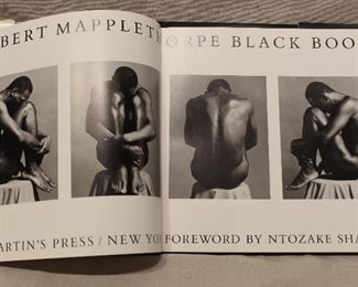 First edition Robert Mapplethorpe book