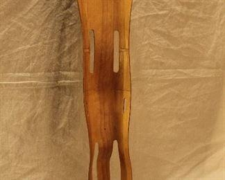 Vintage Eames Evans Products laminated wood splint