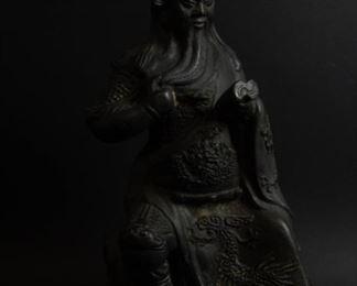 A Bronze Figure of Guan Yu
