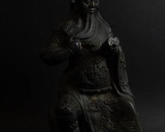 A Bronze Figure of Guan Yu