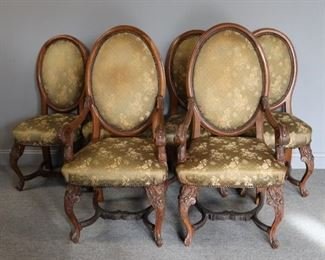 Antique And Finely Carved Chairs