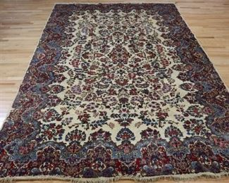 Antique And Finely Hand Woven Kerman Carpet