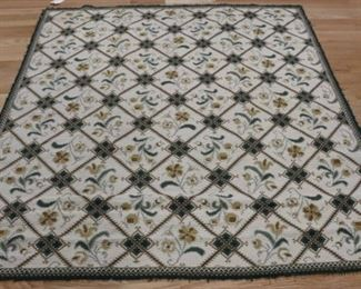 Antique And Finely Hand Woven Rug