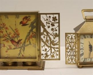 Antique Gilt Metal Bronze Clocks