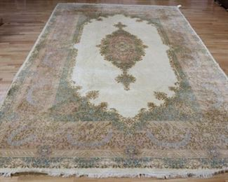 Antique Palace Size Kerman Carpet