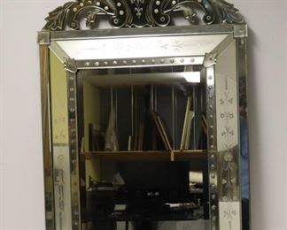 Antique Venetian Style Mirror