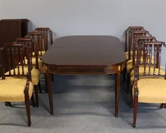 Beacon Hill Mahogany Dining Table Leaves And