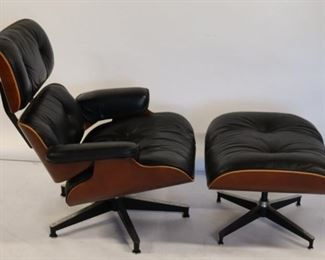 Charles Ray Eames Lounge Chair And Ottoman