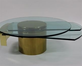 Dakota Jackson Self Winding Coffee Table