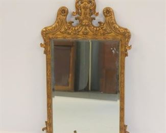 Fine Quality Carved And Gilt Decorated Mirror