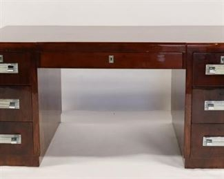 Fine Quality Continental Art Deco Desk