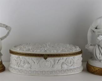 Grouping of Parian Porcelain Inc Sevres
