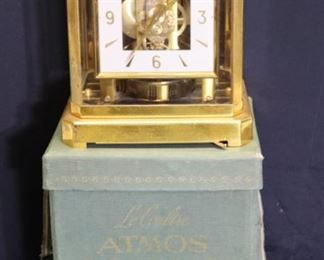 Jaegar Lecoultre Atmos Clock In Original Box