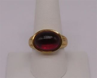 JEWELRY Helen Woodhull kt Gold and Garnet
