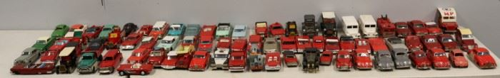 Large Grouping of Vintage Japanese Cars