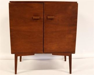 MIDCENTURY Two Door Danish Bar
