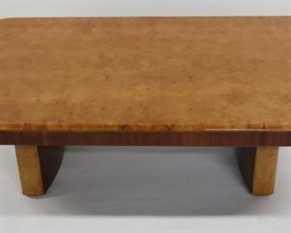 MIDCENTURY Walnut Pedestal Coffee Table